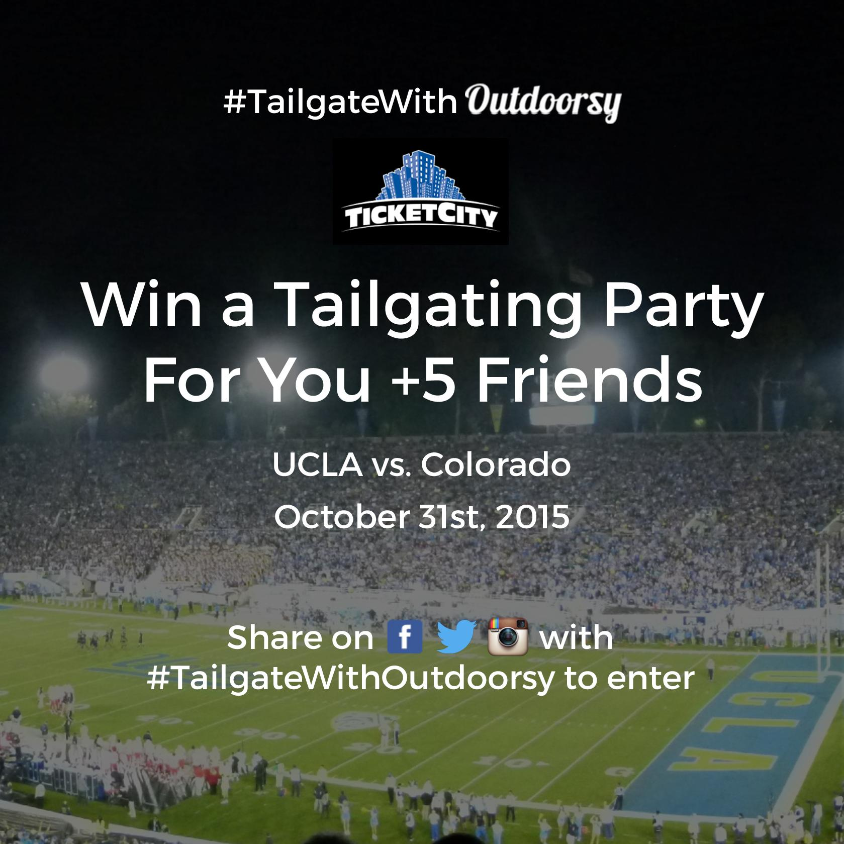 Enter Outdoorsy's ultimate tailgating giveaway