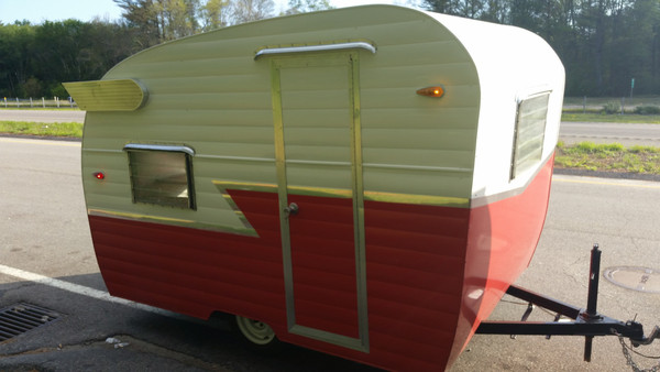 retro travel trailers