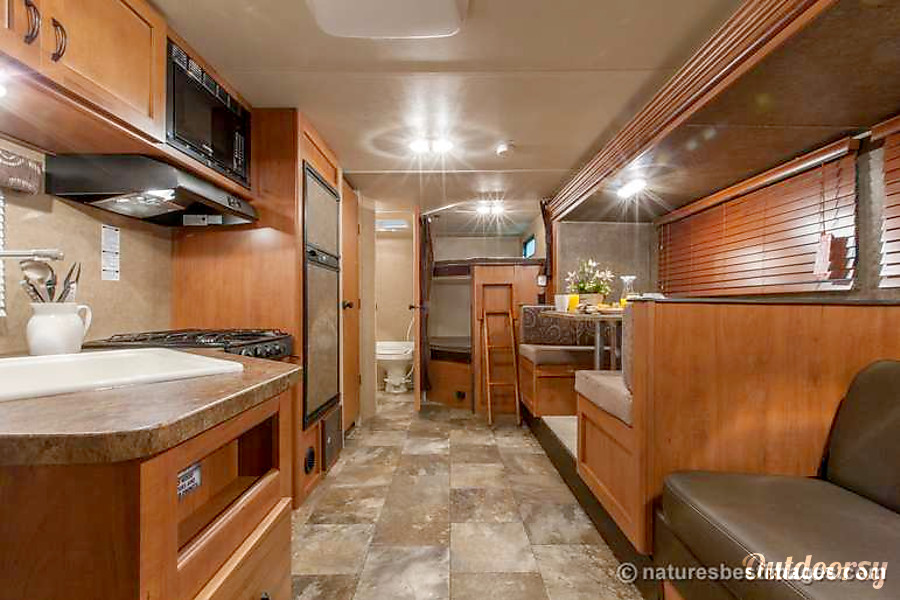 comfortable amenities in RV camping