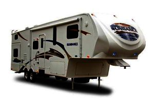 RV Class Fifth Wheel Trailer