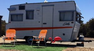 Retro RV Class Travel Trailer