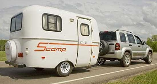 Scamp Fiberglass Travel Trailer