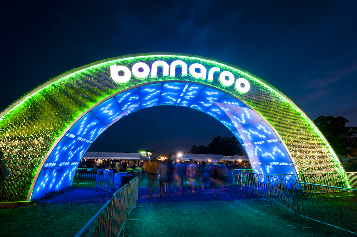 Taking an RV to the Bonnaroo Festival
