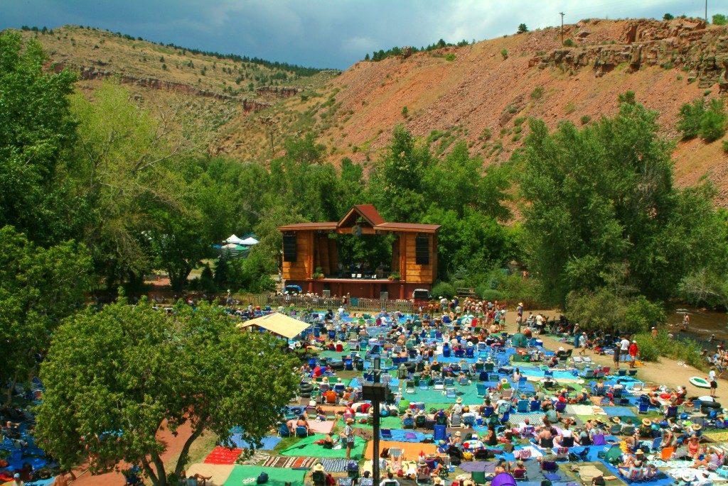 Rocky Mountain Folks Festival RV friendly