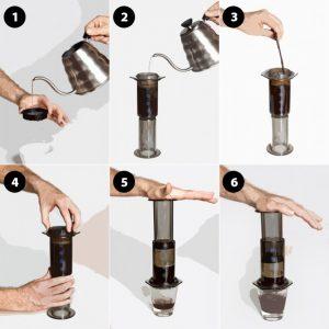 Aeropress Coffee Camping Coffee Hacks