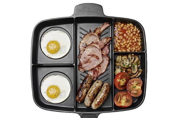 camping breakfast pan