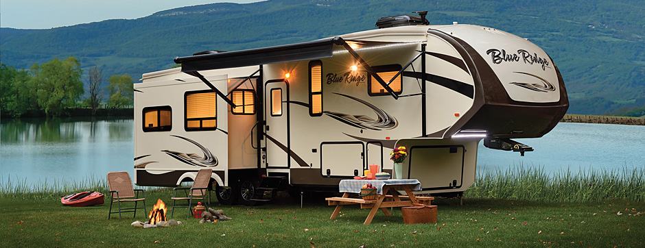 Blue Ridge trailer