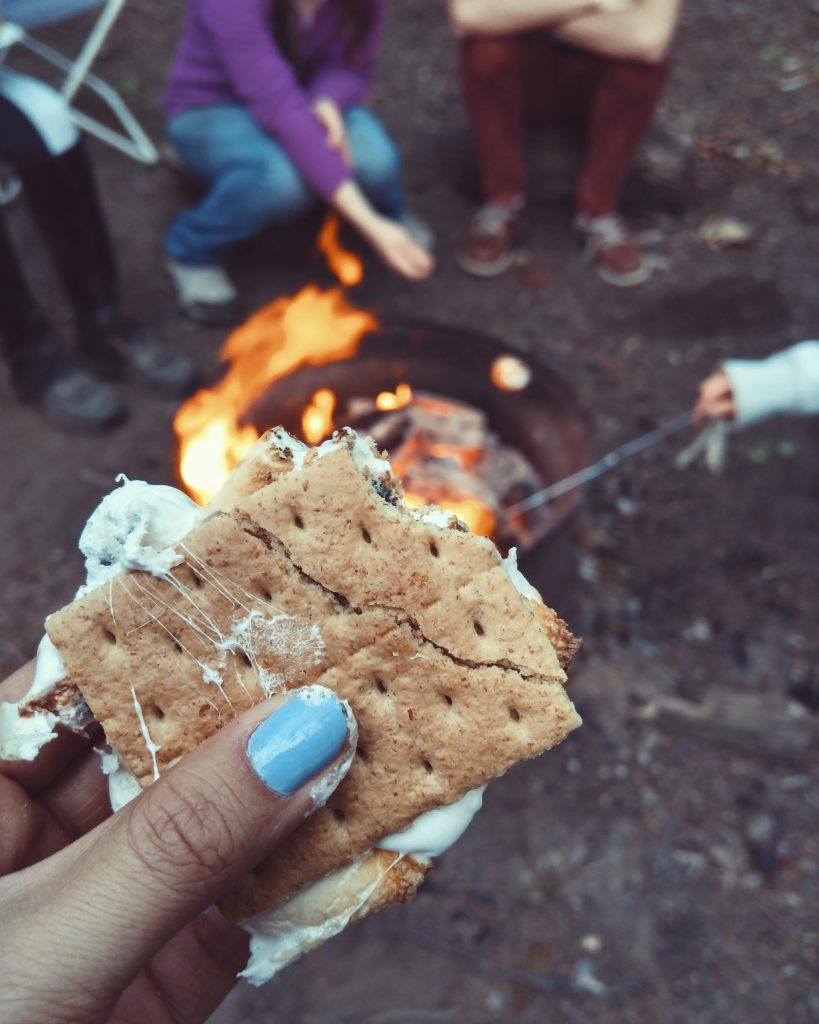 marshmellows rv cooking