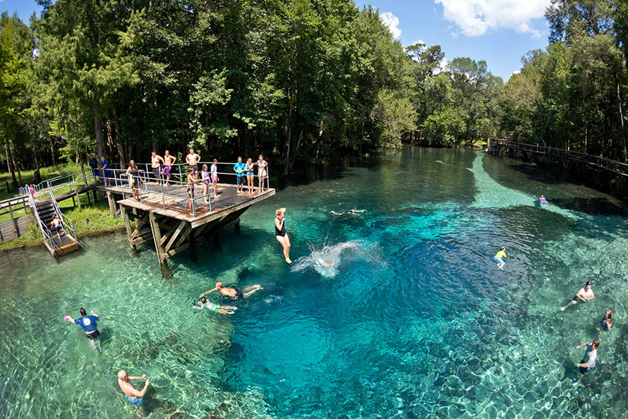 Blue Springs in High Springs Florida RV