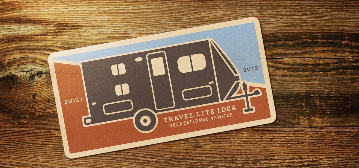 RV Rental Design sticker