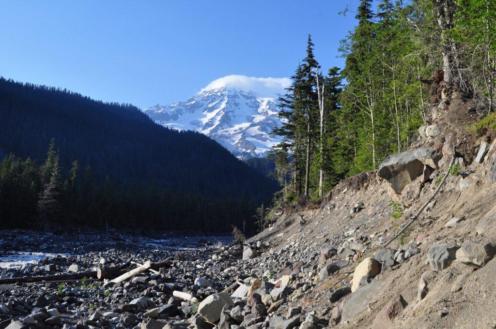 Mount Rainier Volcano Camping