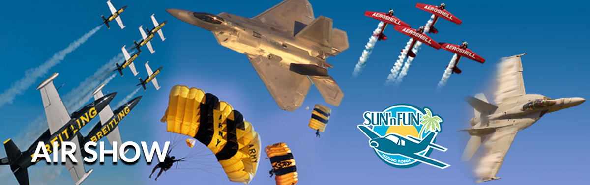Sun N Fun Air Show RV Rental