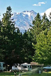 Mount Shasta RV Camping Volcano