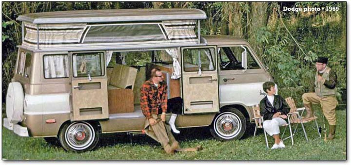1970s Vintage RVs, Free and Funky | Never Idle Journal