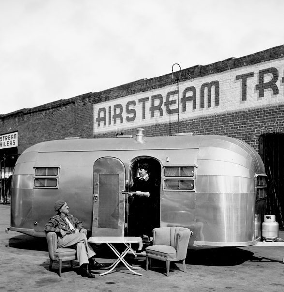 Wally Byam vintage airstream