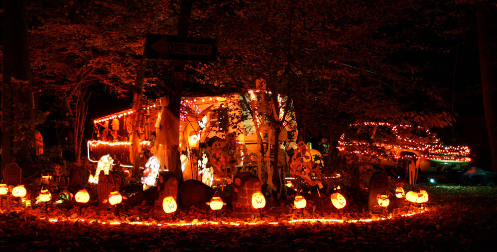 Haunted RV Parks for Halloween