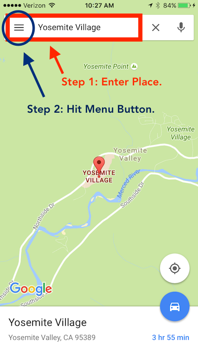 google maps how to