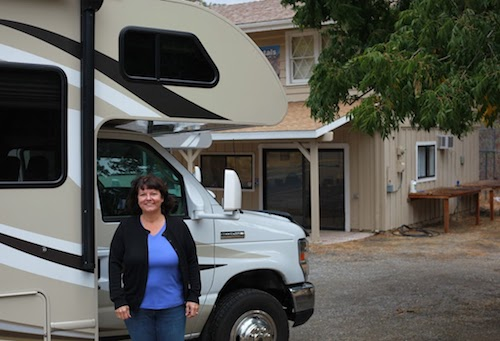 Susan Rutz First RV Trip