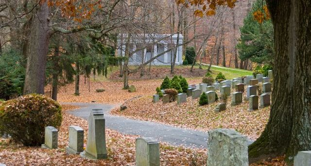 Sleepy Hollow Graveyard, about 8 miles from Croton on Point Park