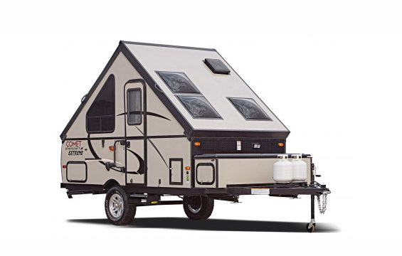 Why an A-frame trailer is perfect for a family on a budget | Never ...