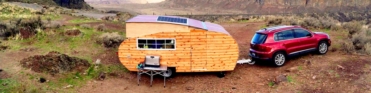 Homegrown Trailers teardrop