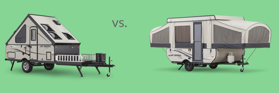 What's the Difference Between an A-Frame and Pop-up Trailer?