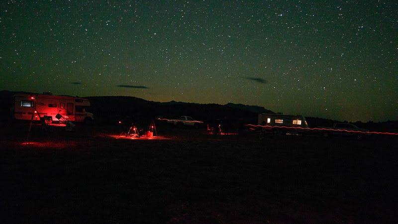 RV parks for stargazing