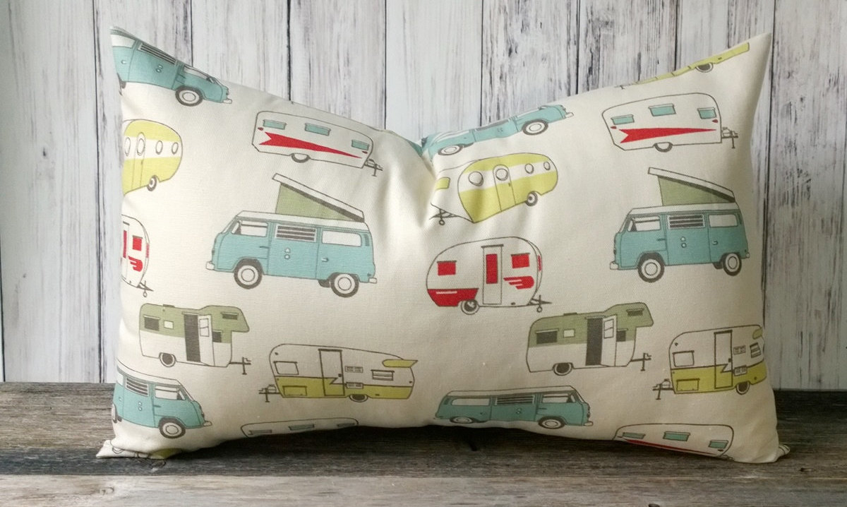 RV storage idea pillow