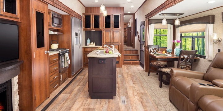 RV Interiors Are A Lot Nicer Than You Might Think | Never Idle Journal