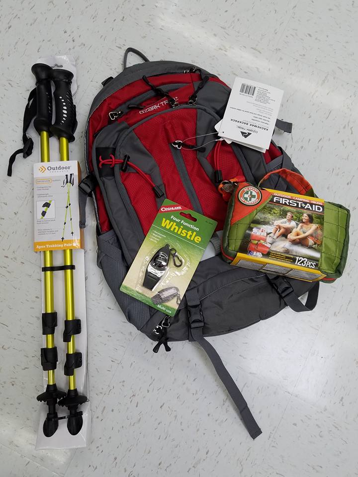 Hiking Gear Supplies
