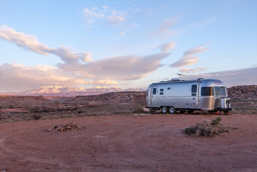 rv park hookup option