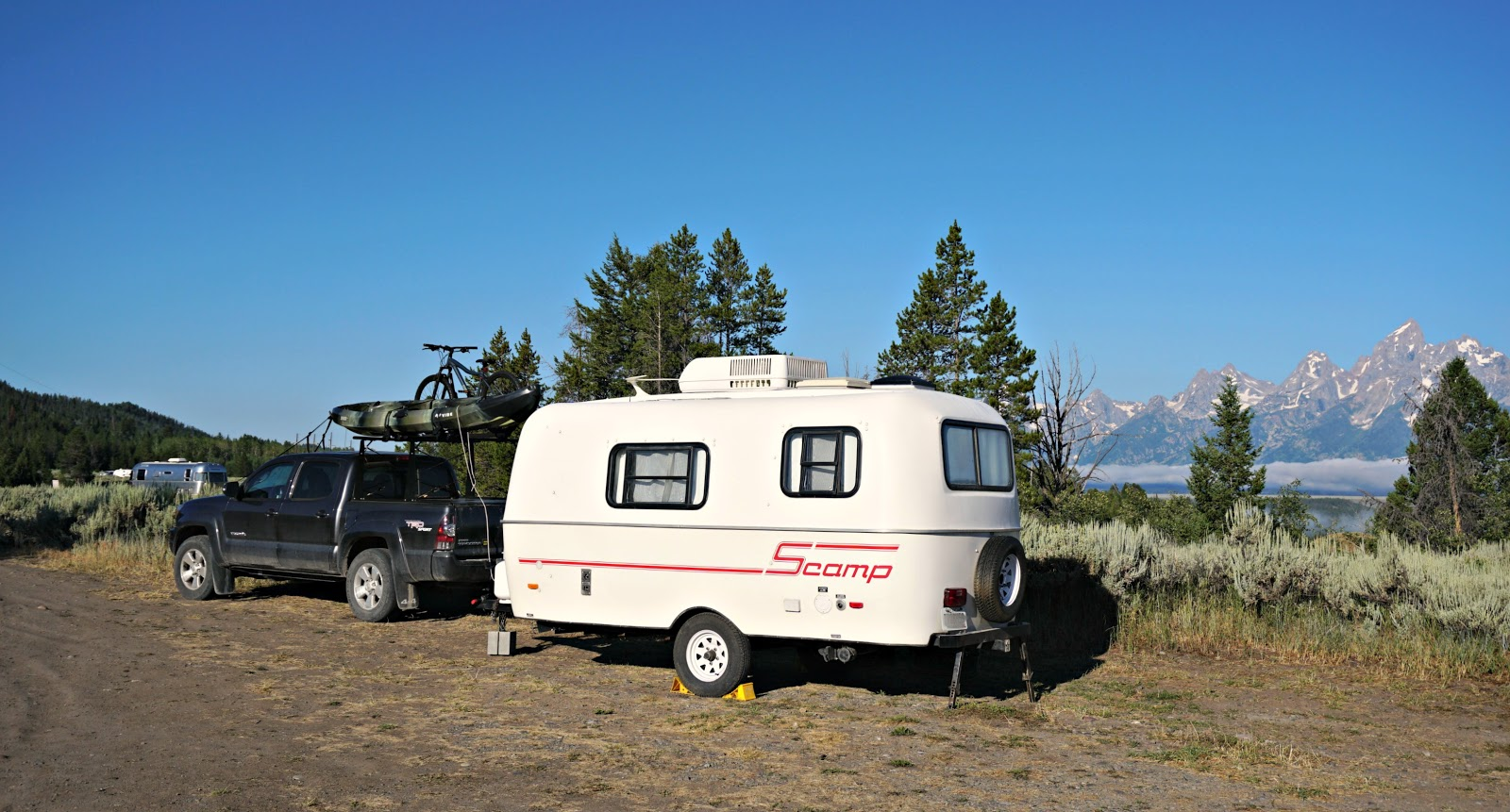 Boondocking in the Tetons