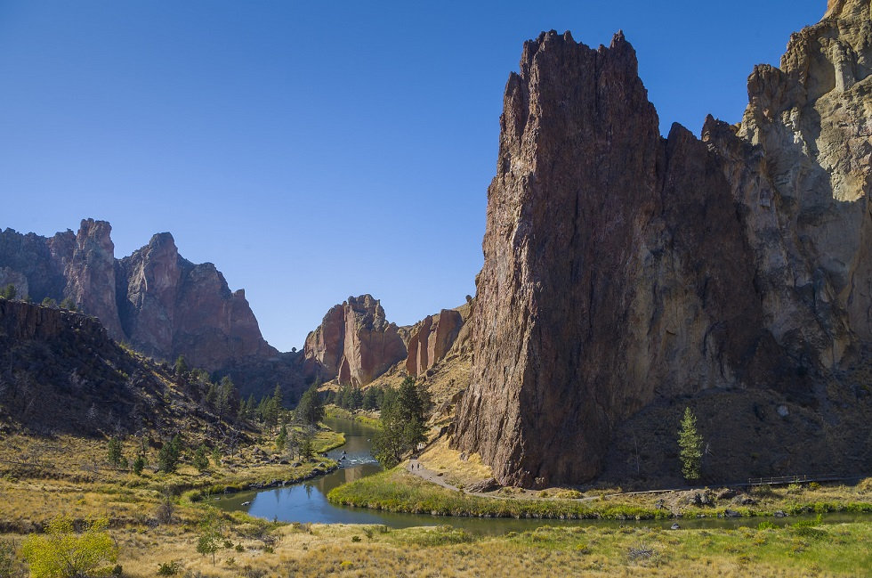 Smith Rock State Park near Bend, Oregon