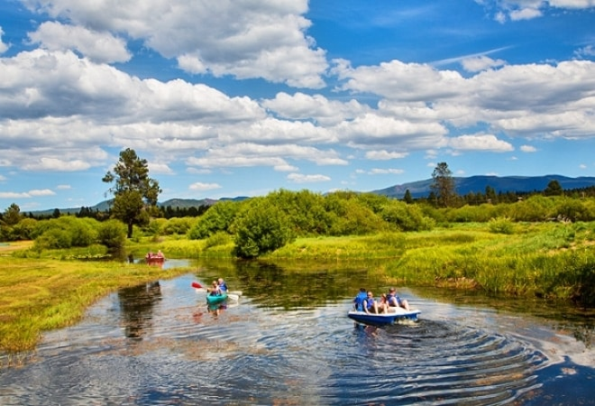 Bend-Sunriver RV Campground in Bend, Oregon