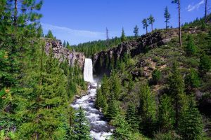 Tumalo Falls Bend, Oregon