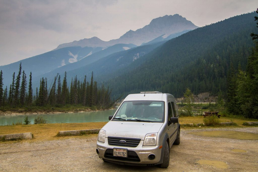 A great picnic spot outside Gnewen, British Columbia.