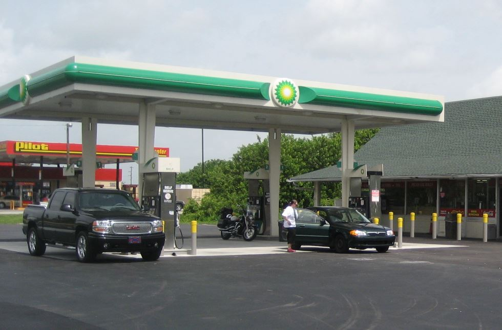 Filling up on fuel