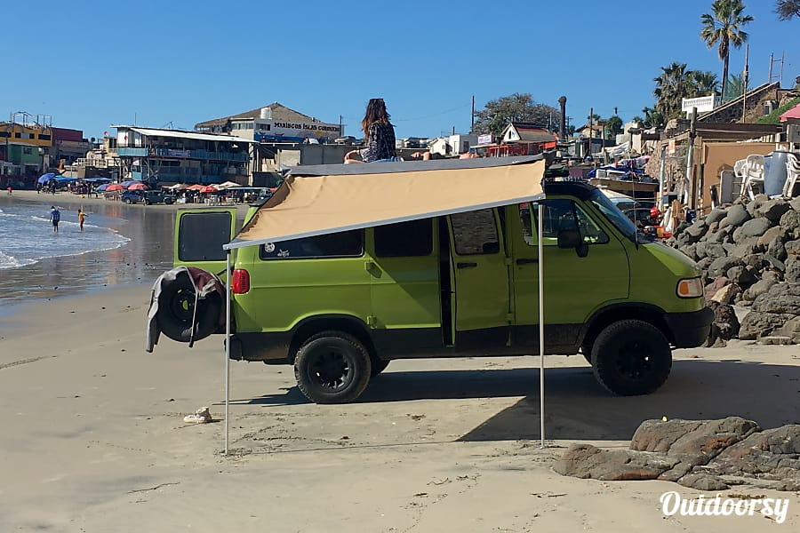 Green Machine Van Beach