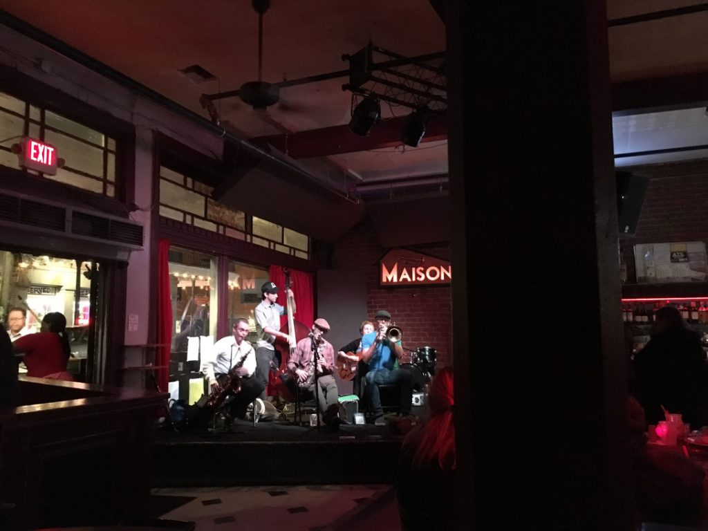 Live music while RV New Orleans