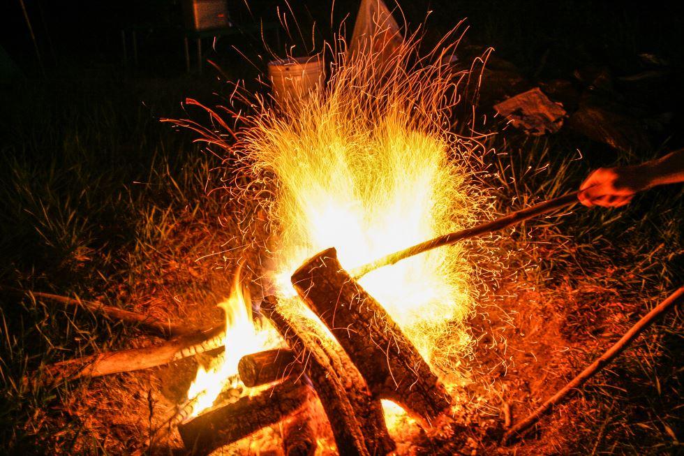 bonfire tinder test