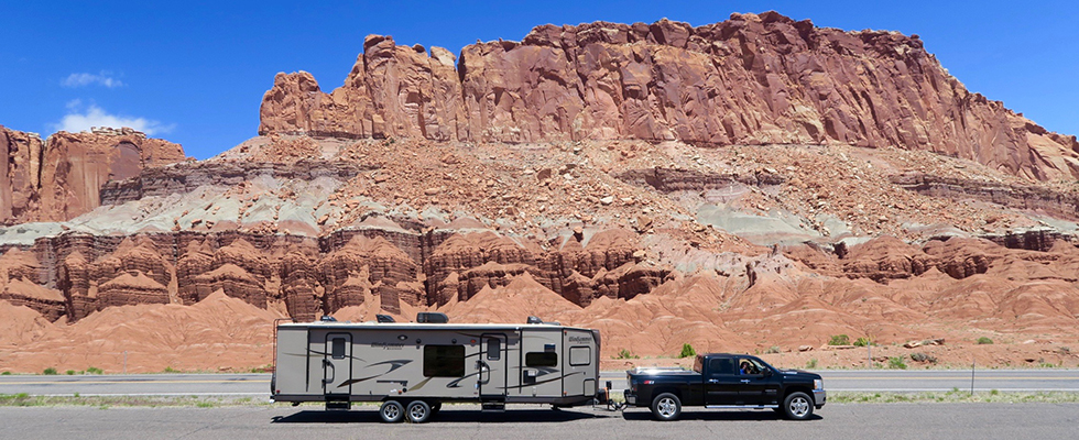 RV in Capitol Reef National Park