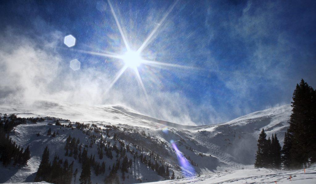 breckenridge, Colorado in the winter