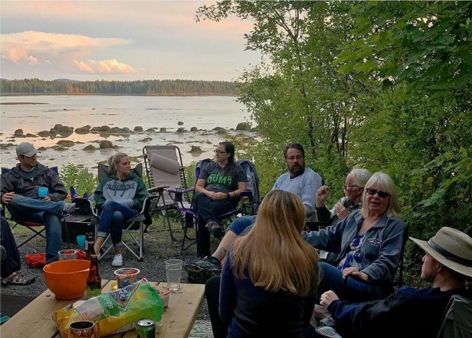 campground friends