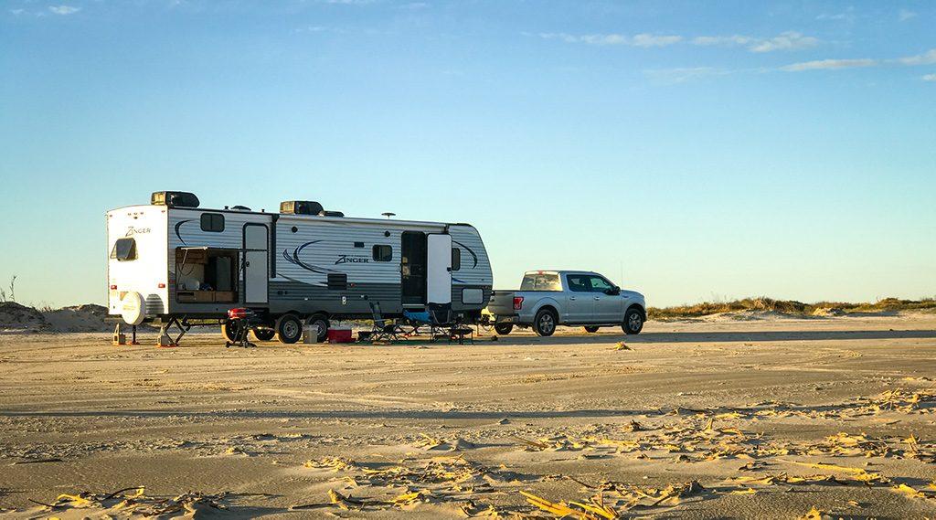 boondock on the beach   Outdoorsy RV Rental Marketplace