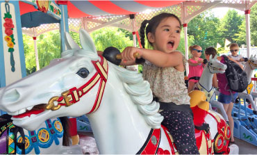 Carousel at Story Land, Glen, NH | Outdoorsy RV Rental Marketplace