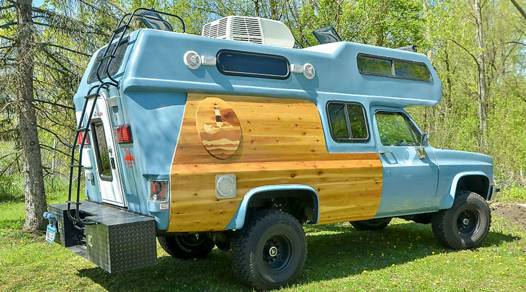 7 Crazy Cool RVs on Outdoorsy