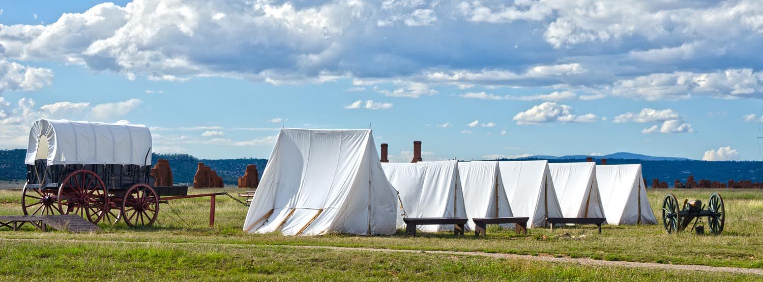 21st Century Covered Wagon Retraces Part of the Santa Fe Trail