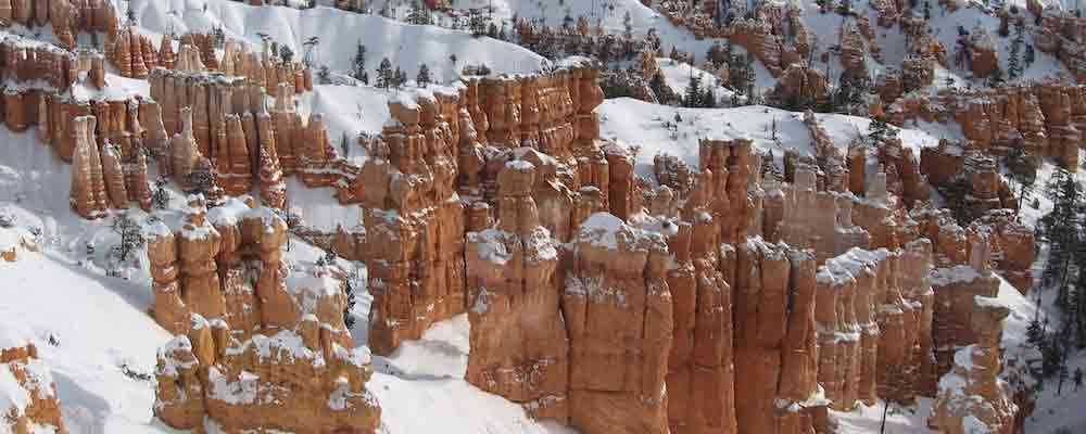 10 Jaw-Dropping Winter Day Hikes In The U.S., Ranked By Views