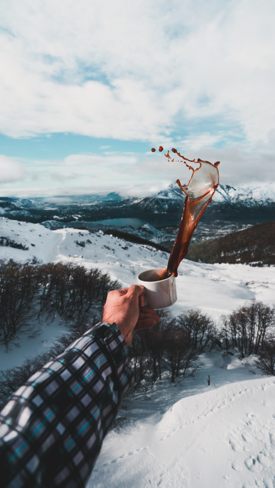 Never Idle | winter camper