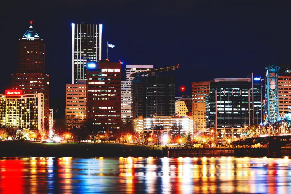 Cityscape, Portland, Oregon I Outdoorsy RV Rental Marketplace